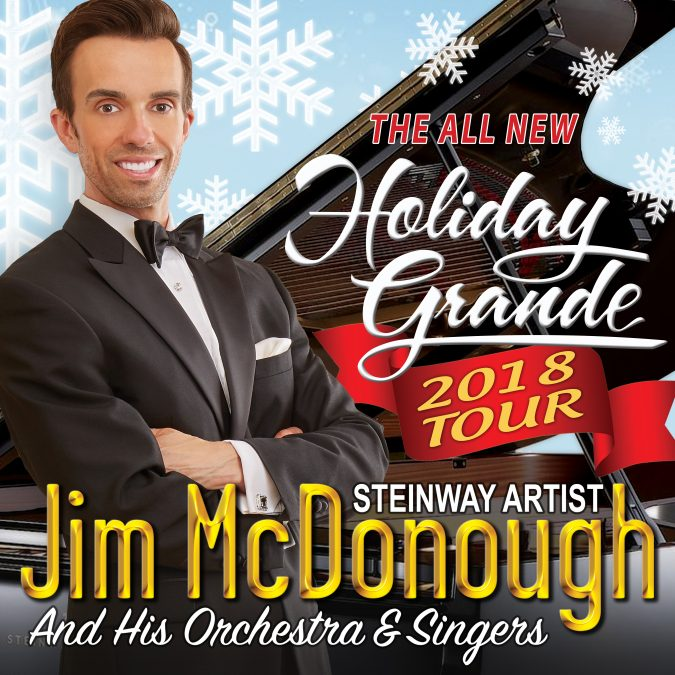 Jim McDonough's Holiday Grande tour 2018